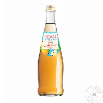 Напиток Geo Natura Лимонад груша стекло 0,5л
