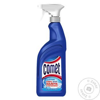 Спрей Comet 7 дней чистоты для чистки ванной комнаты 500мл - купить, цены на Восторг - фото 2