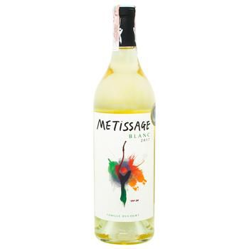 Famille Ducourt Metissage Blanc White Dry Wine 13% 0,75l - buy, prices for CityMarket - photo 1