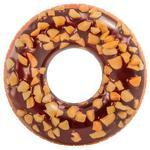 Круг Шоколадный пончик надувной 114см