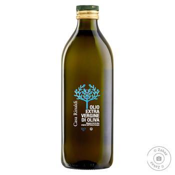 Масло Casa Rinaldi оливковое Экстра Вирджин первого холодного отжима 1л - купить, цены на Novus - фото 1