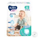 Трусики Aura Baby размер 6 16-25кг 37шт