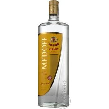 Medoff Classic Vodka 40% 1l - buy, prices for Furshet - image 1