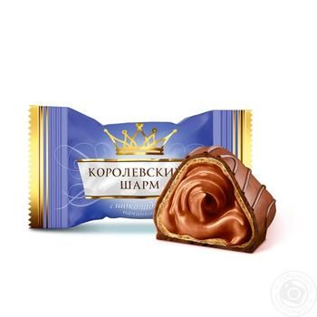Цукерки АВК Королівський Шарм з шоколадною начинкою