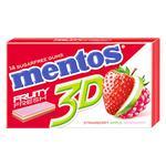 Жевательная резинка Mentos 3D клубника-яблоко-малина 33,6г