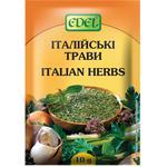 Приправа Edel Італійські трави 10г