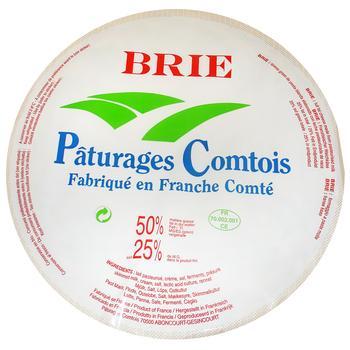 Сир Paturages Comtois Брі 50% ваговий