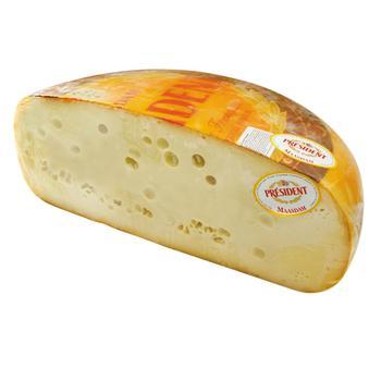 Сир Президент Маасдам 48% ваг. - купить, цены на Космос - фото 1