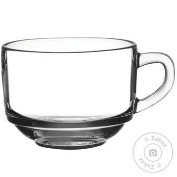 Кружка Pasabahce  для супу 625мл - купити, ціни на МегаМаркет - фото 1