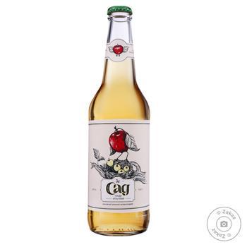 Сидр де Сад яблучний 4,7% 0,45л - купити, ціни на Novus - фото 1
