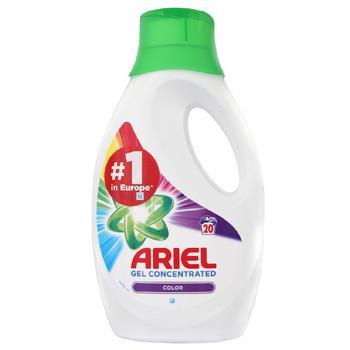 Жидкий стиральный порошок Ariel Color 1,1л - купить, цены на Ашан - фото 1