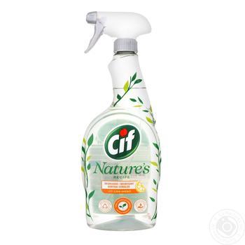 Засіб для прибирання кухні Cif Могутня природа з екстрактом лимону 750мл - купити, ціни на Novus - фото 2