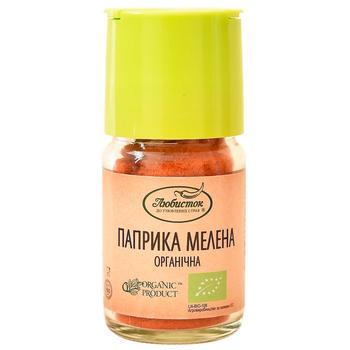 Lyubystok Organic Ground Paprika 25g