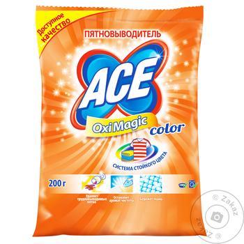 Пятновыводитель ACE oxi magic 200г - купить, цены на Восторг - фото 7