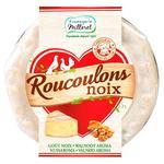 Сир Fromagerie Milleret Roucoulons Noix зі смаком волоського горіха 55% 125г