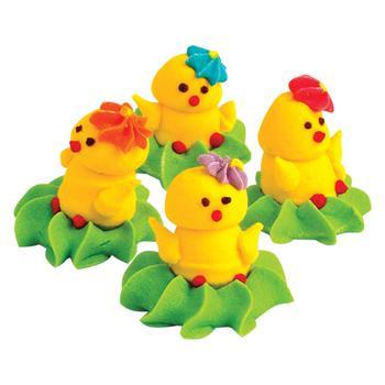 Набор декораций кондитерских Добрик Забавные цыплята