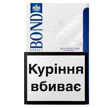 Сигареты Bond Street Blue Selection