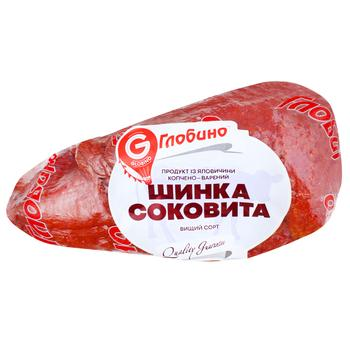 Globino Highest Grade Smoked And Boiled Beef Ham by Weight - buy, prices for Furshet - image 1