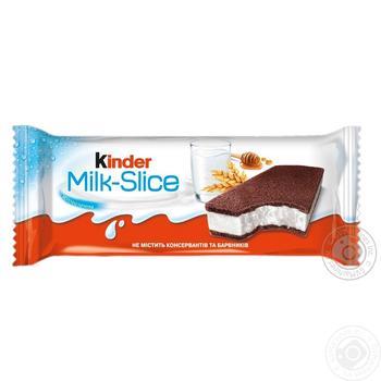 Kinder Milk-Slice Biscuit 28g
