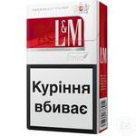 Цигарки L&M Red Label 20шт