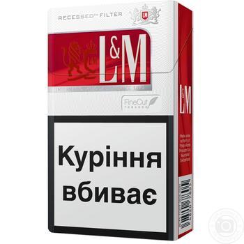 Сигареты L&M Red Label 20шт - купить, цены на Восторг - фото 2