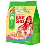 Печенье хрустящие фигурки Kresko банановый вкус 170г