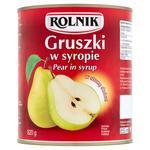 Груша Rolnik кусочками в сиропе 850мл
