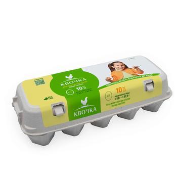 Яйце куряче Квочка С1 10шт - купити, ціни на ЕКО Маркет - фото 1