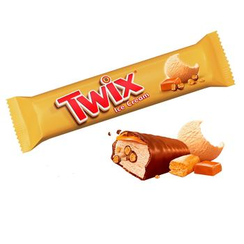 Twix Ice Cream with Caramel and Biscuits 40g - buy, prices for Auchan - photo 1