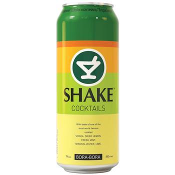 Low-alcohol drink Shake Bora Bora 7%alc. 500ml