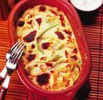 Запеканка из кабачков со сливочным сыром