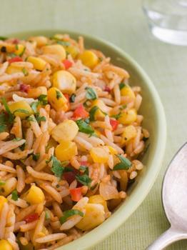 Мексиканский рисовый салат