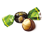 Конфета Конти с фундуком в шоколаде Украина