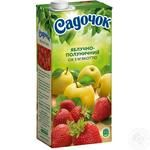Sadochok apple-strawberry juice 0,95l - buy, prices for Furshet - image 1