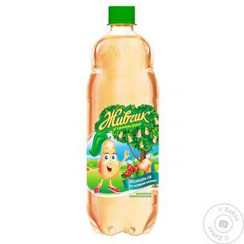 Напиток безалкогольный Живчик со вкусом груши сокосодержащий сильногазированный 1л - купить, цены на Novus - фото 2