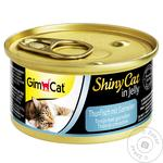 Gimpet ShinyCat Cats Feed With Tuna And Shrimp 70g