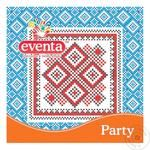 Eventa Napkin with Drawing Mix 33х33 20pcs - buy, prices for Tavria V - image 1