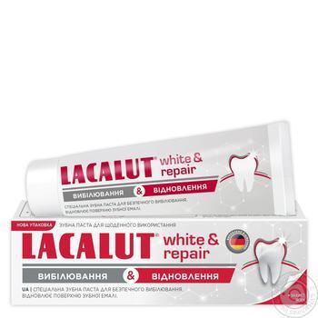 Зубная паста Лакалут Вайт&восстановление 75мл - купить, цены на Novus - фото 2