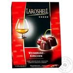 Цукерки Laroshell 150 г Вишня в бренді (Німеччина)