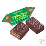 Конфеты Бисквит Шоколад Вафельные с арахисом на фруктозе