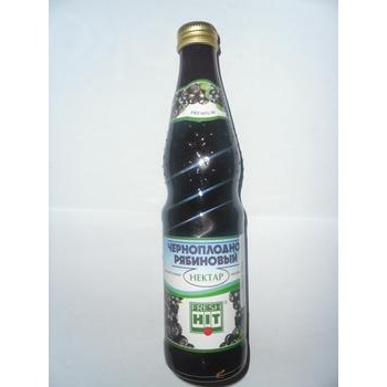 Нектар Фреш Хит черноплодно-рябиновый прямой отжим неосветленный стеклянная бутылка 330мл Россия