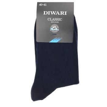 Diwari Classic Men's Socks s.27 000 dark blue 5C-08SP - buy, prices for CityMarket - photo 3