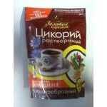 Instant drink mix Zolotoy koreshok with ginseng extract caffeine-free vacuum packaging 100g Russia