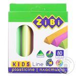 Zibi Kids Line Plasticine 5 colors 80g