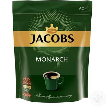 Jacobs Monarch instant coffee 60g - buy, prices for MegaMarket - image 1