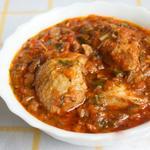 Курка в горіховому соусі