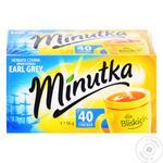 Чай Minutka 40 шт. чорн. Earl Grey (Польща) И513