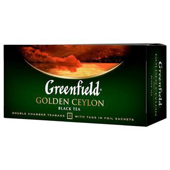 Greenfield Golden Ceylon Black Tea 25pcs 2g