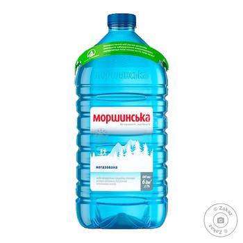 Вода Моршинская негазировання 6л