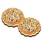 Печиво Диканське Зата Ірис цукрове оздоблене частково глазуроване